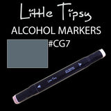 Little Tipsy Double Ended Alcohol Ink Marker - Colour - CG7