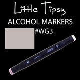 Little Tipsy Double Ended Alcohol Ink Marker - Colour - WG3