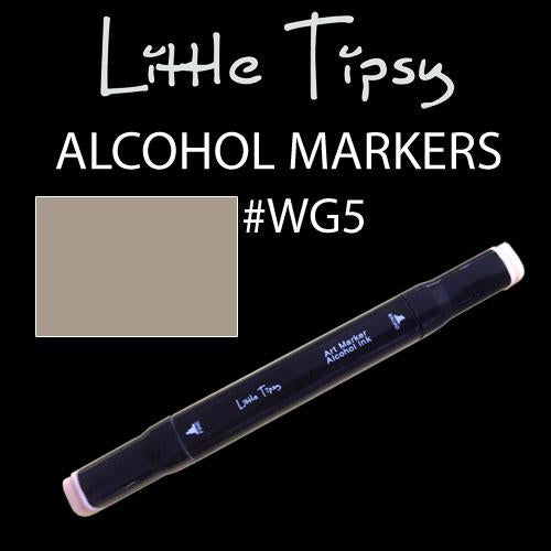 Little Tipsy Double Ended Alcohol Ink Marker - Colour - WG5