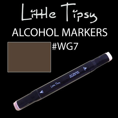 Little Tipsy Double Ended Alcohol Ink Marker - Colour - WG7