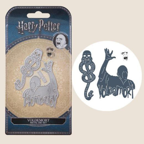 Harry Potter Die And Face Stamp Set Voldemort