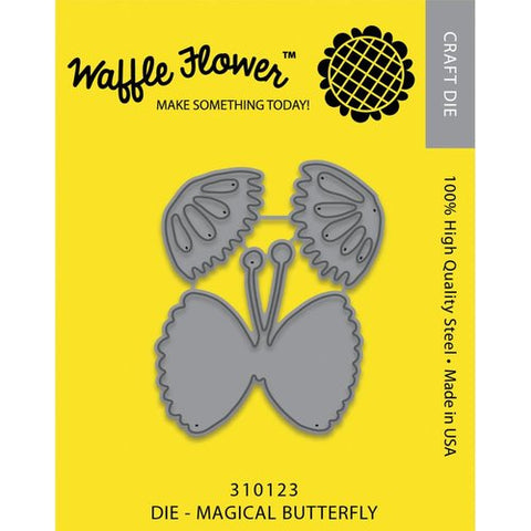 Waffle Flower Die Magical Butterfly