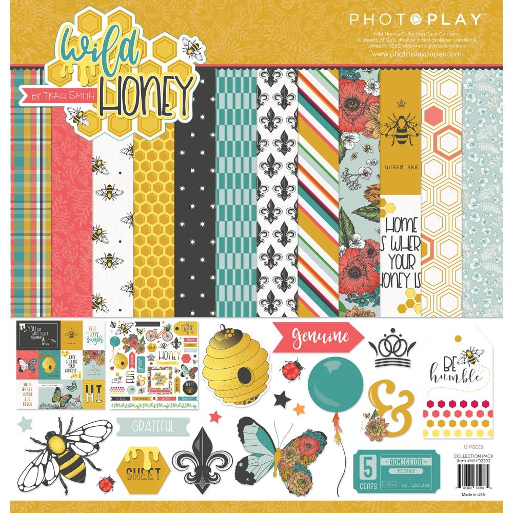 PhotoPlay Collection Pack 12X12 Wild Honey