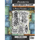 Stamperia Cling Stamp 5.90X7.87 Octopus