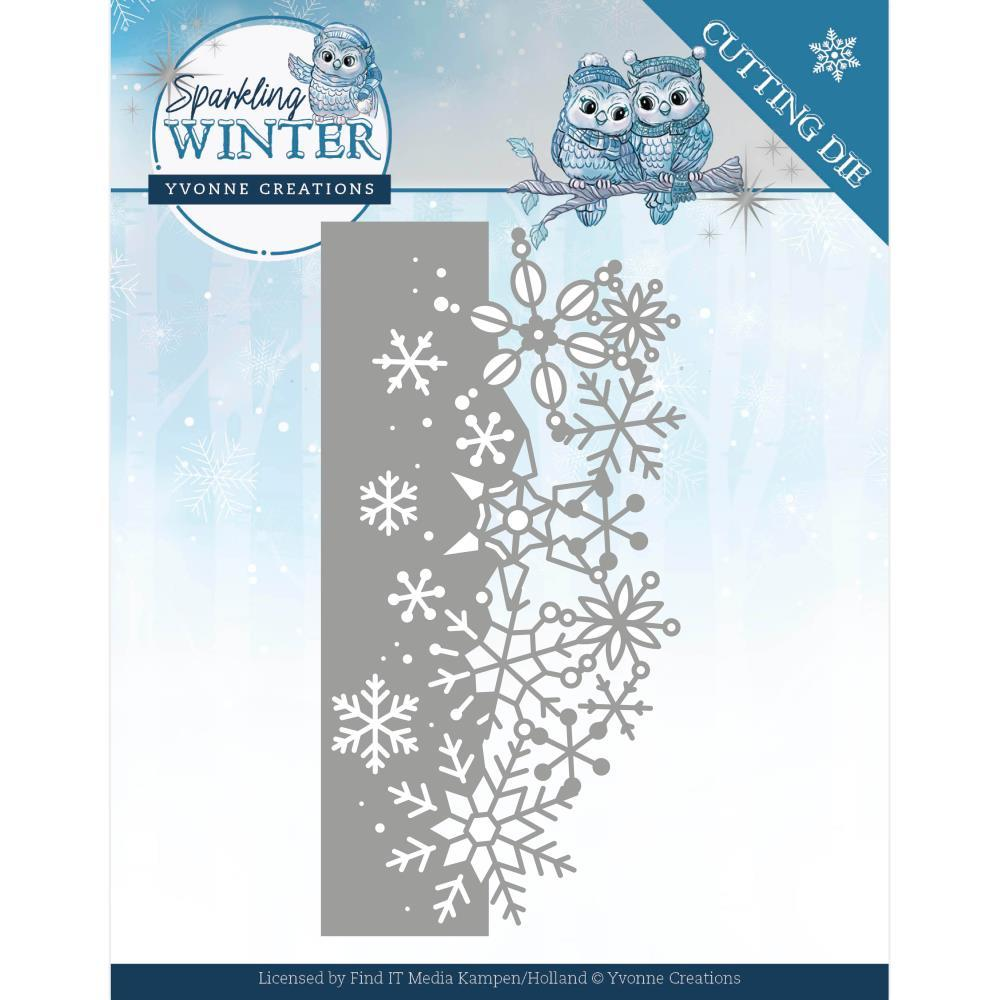 Find It Trading Yvonne Creations Die - Sparkling Border, Sparkling Winter