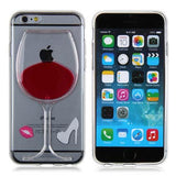 Red Wine iPhone Case