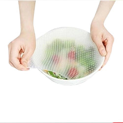 Silicone Stretchable Bowl Covers (4pcs)