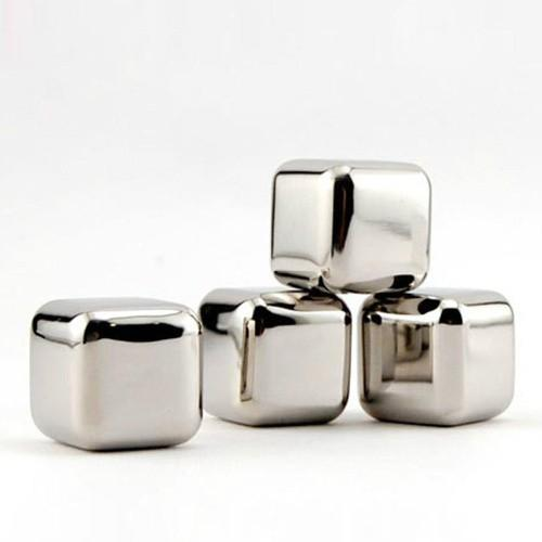 Stainless Steel Ice Stones (10 pieces)