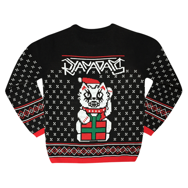 Cat Presents Knit Sweater - Ryan Adams UK
