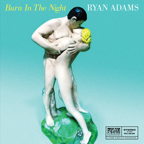 "Burn In The Night 7"" (Blue) - Ryan Adams UK"