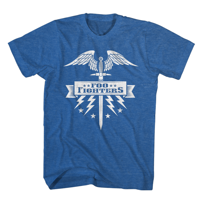 Sword Tee (Blue) - Foo Fighters UK