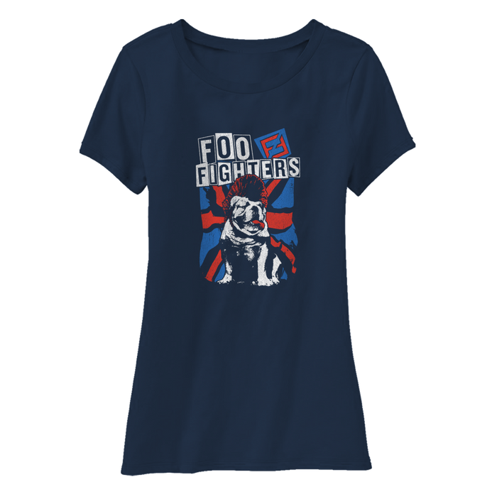 Bulldog Babydoll Tee - Foo Fighters UK