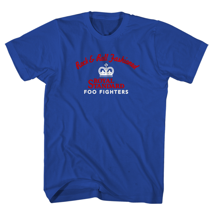 Rock Fashioned Tee (Royal Blue) - Foo Fighters UK