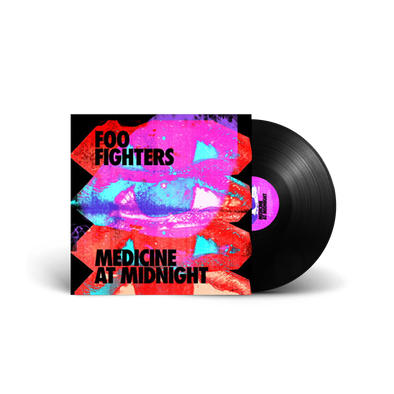 Medicine At Midnight Black Vinyl