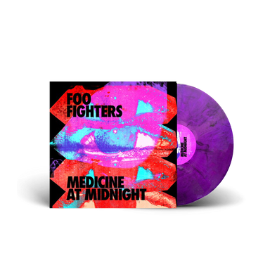 Medicine At Midnight Limited Exclusive Purple Smoke Vinyl