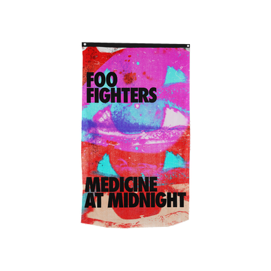 Medicine At Midnight Wall Flag