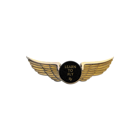 Learn To Fly Wings Pin