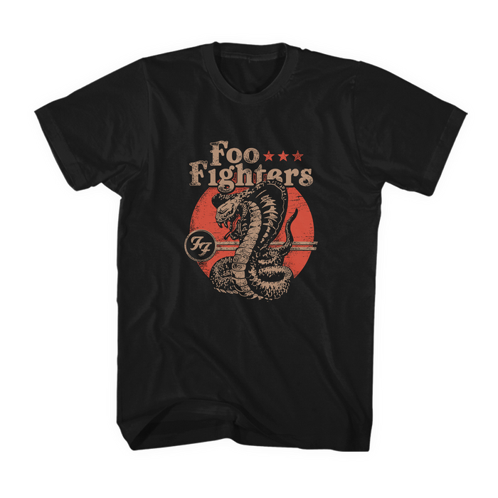 Cobra Unisex Tee - Foo Fighters UK