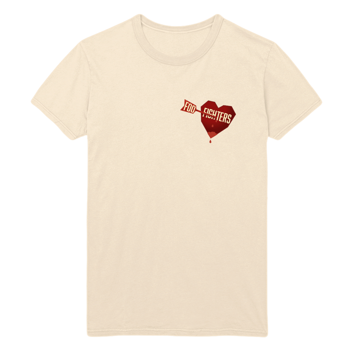 Arrows Heart Tee - Foo Fighters UK
