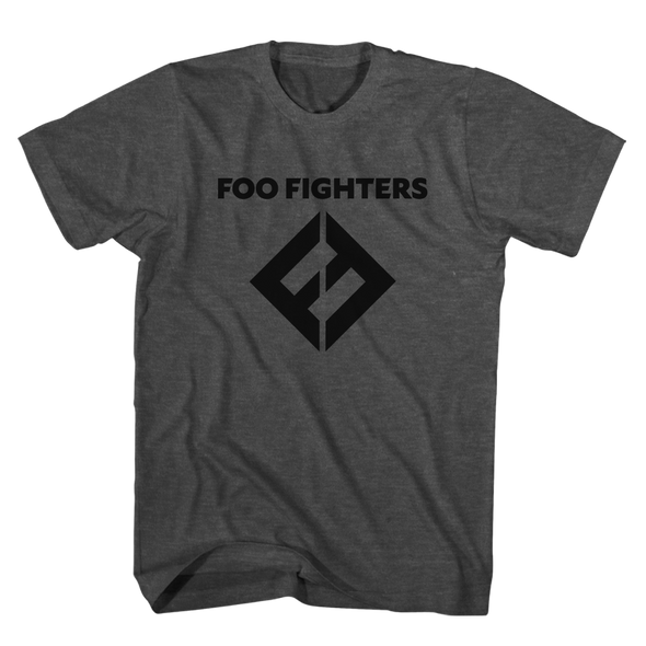 FF Equals Logo Tee (Charcoal) - Foo Fighters UK