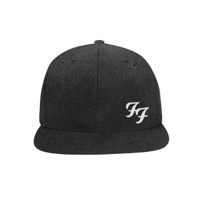 FF Snapback Hat (Heather Black) - Foo Fighters UK