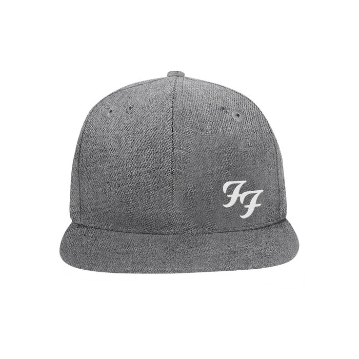 FF Snapback Hat (Grey) - Foo Fighters UK