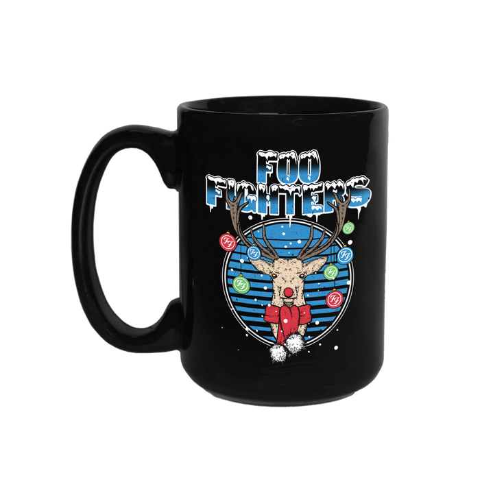 Jolly Deer Mug - Foo Fighters UK