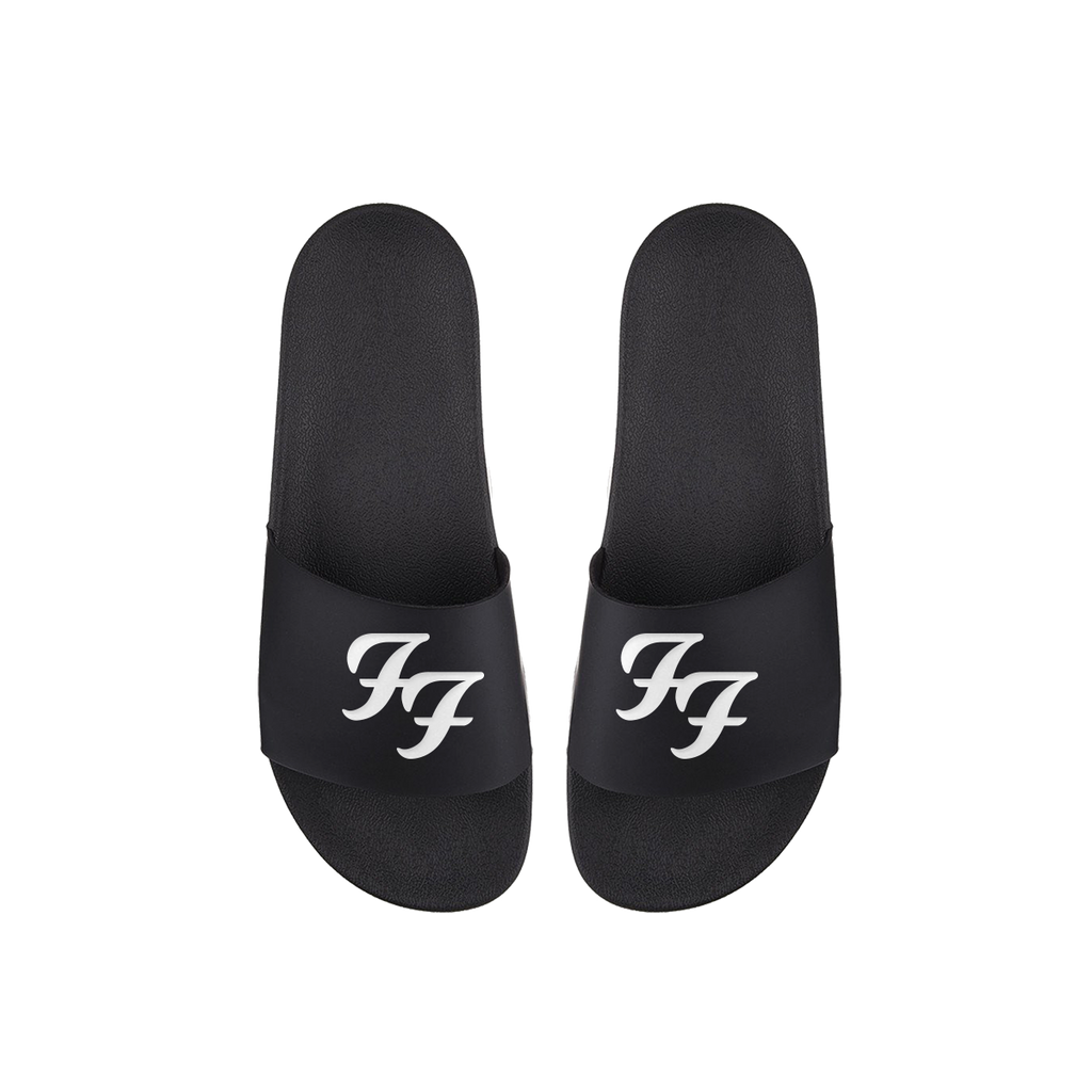 4a127e5d5acdb FF Logo Slide Sandals – Foo Fighters UK Store