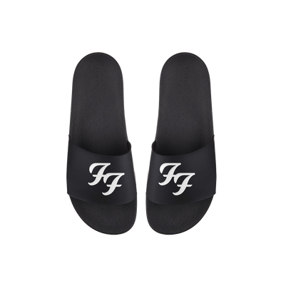 FF Logo Slide Sandals - Foo Fighters UK