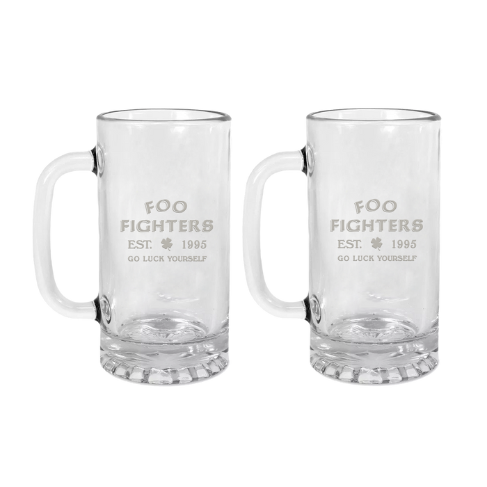 Go Luck Yourself Beer Mug Bundle - Foo Fighters UK