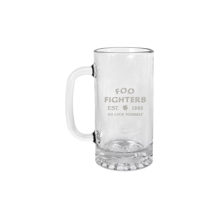 Go Luck Yourself Beer Mug - Foo Fighters UK