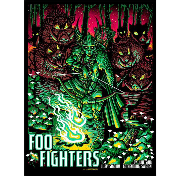 Gothenburg Event Poster - Foo Fighters UK