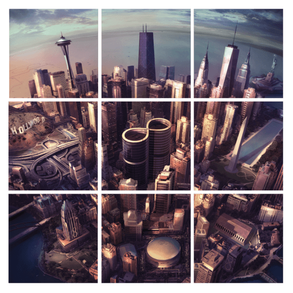 Sonic Highways Vinyl - Foo Fighters UK