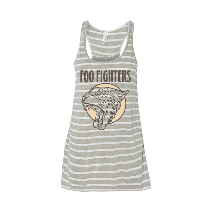 Cheetah Flowy Racerback Tank - Foo Fighters UK