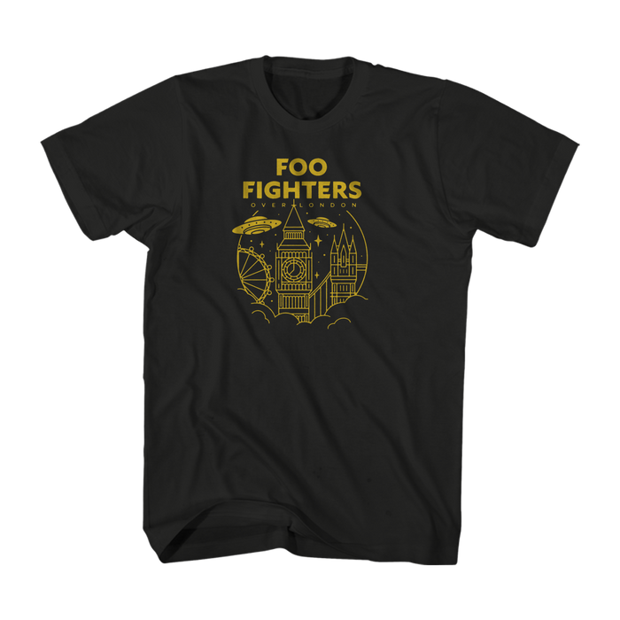 Over London Tee - Foo Fighters UK