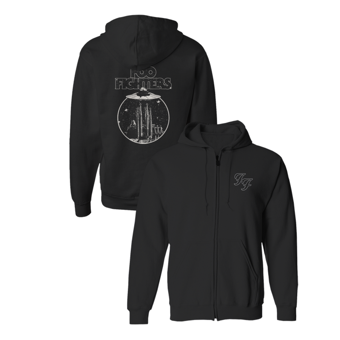 Abduction Zip-Up Hoodie - Foo Fighters UK