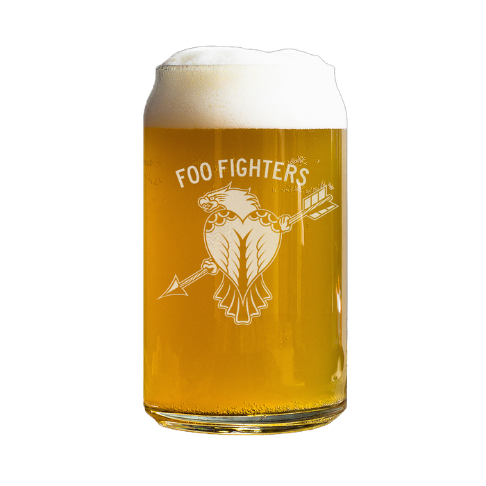 Eagle Arrow Beer Can Glass - Foo Fighters UK