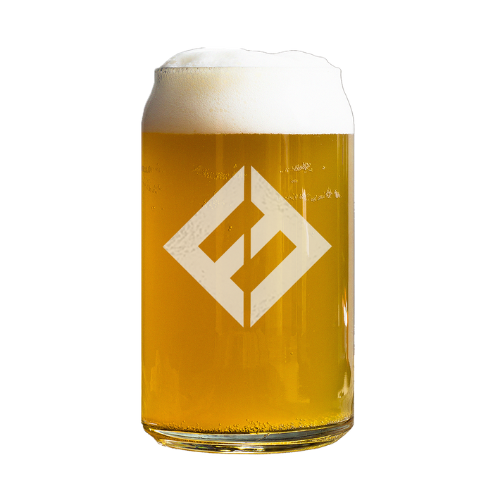 Equals Beer Can Glass - Foo Fighters UK