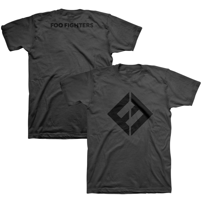 FF Equals Tee (Black/Charcoal) - Foo Fighters