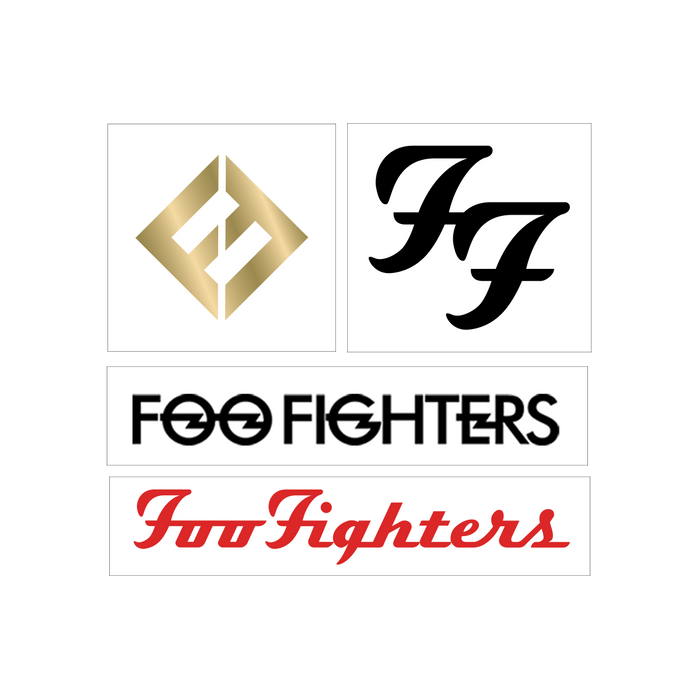 Flash Tattoo Set - Foo Fighters UK