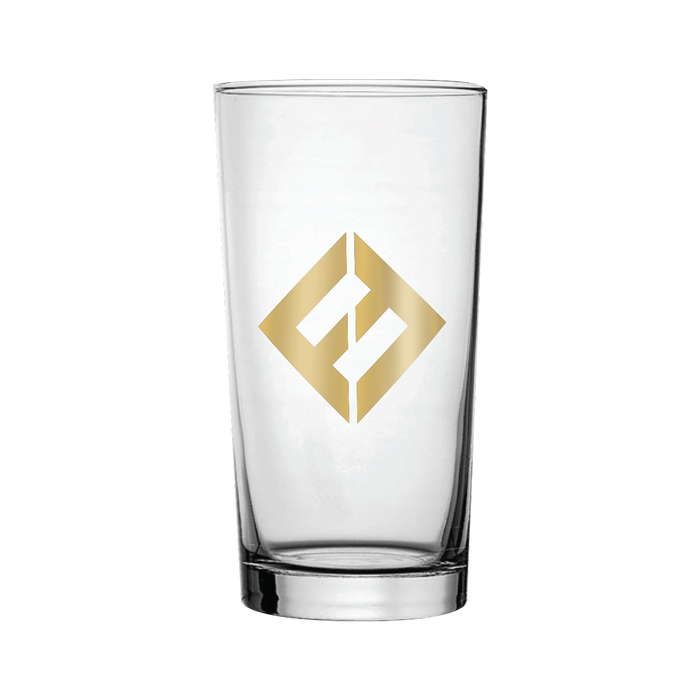 Pint Glass - Gold - Foo Fighters UK
