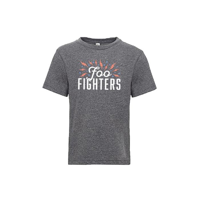 Ecstatic Youth Grey Tee - Foo Fighters UK