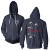 Molecules Hoodie (Navy Heather) - Foo Fighters UK