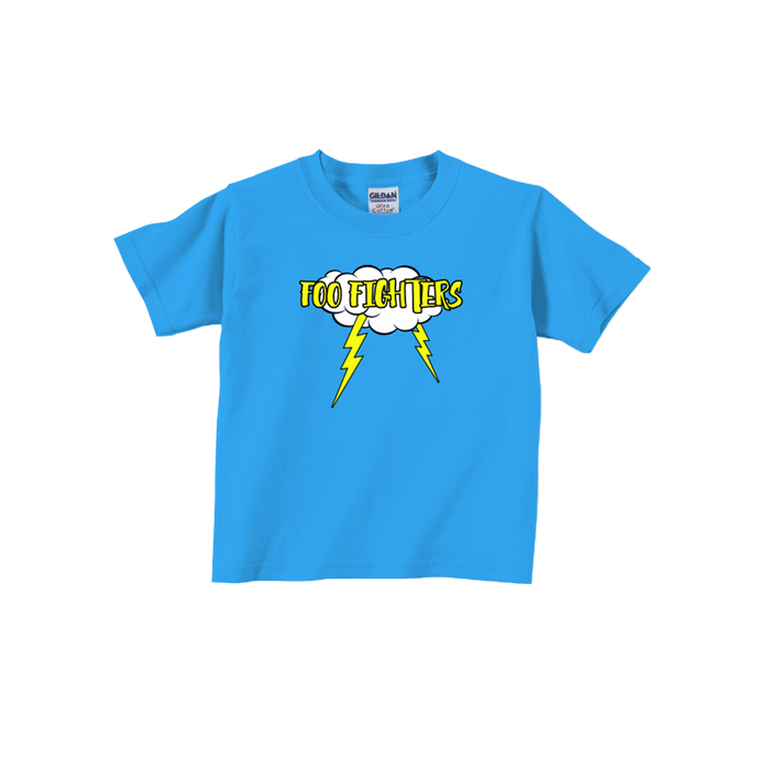Roaring Blue Youth Tee - Foo Fighters UK