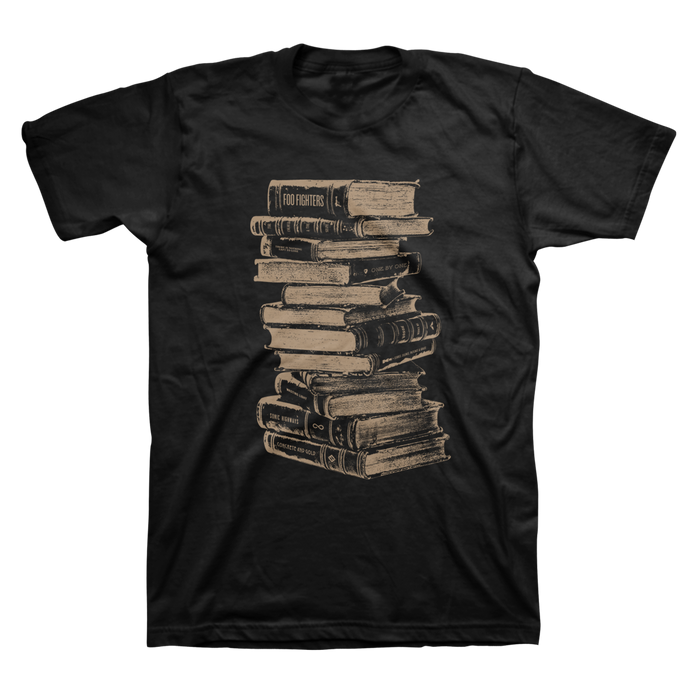 Books Tee - Foo Fighters UK