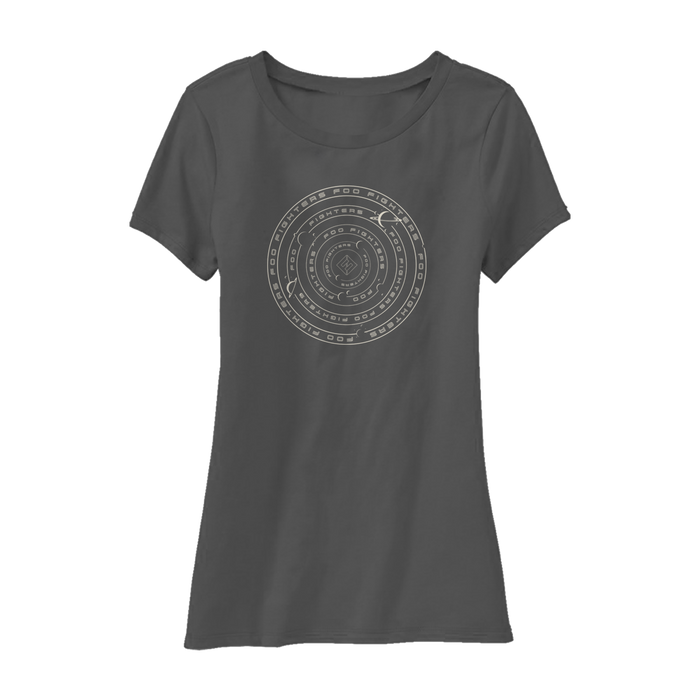 Solar System Chart Women's Tee - Foo Fighters UK