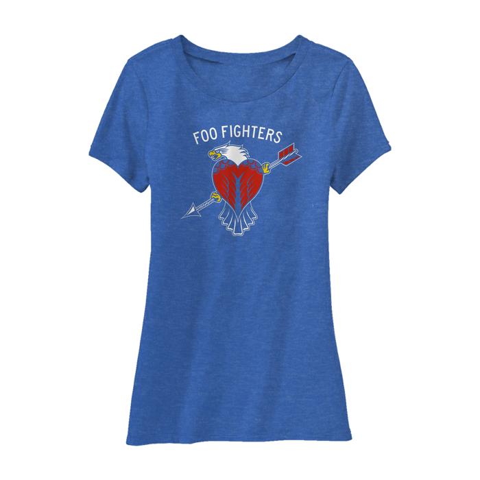 Worldwide Eagle Women's Tee - Foo Fighters UK
