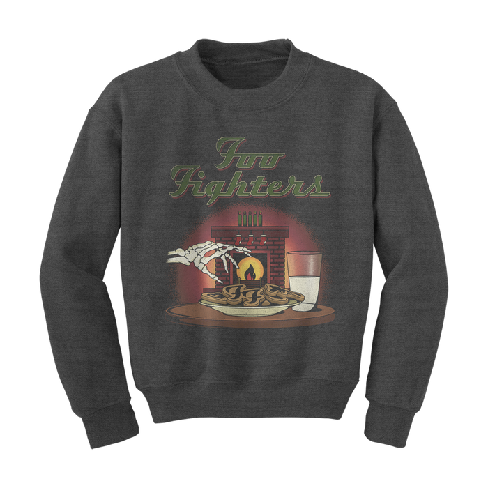 Seasons Greetings Crewneck Sweatshirt - Foo Fighters UK