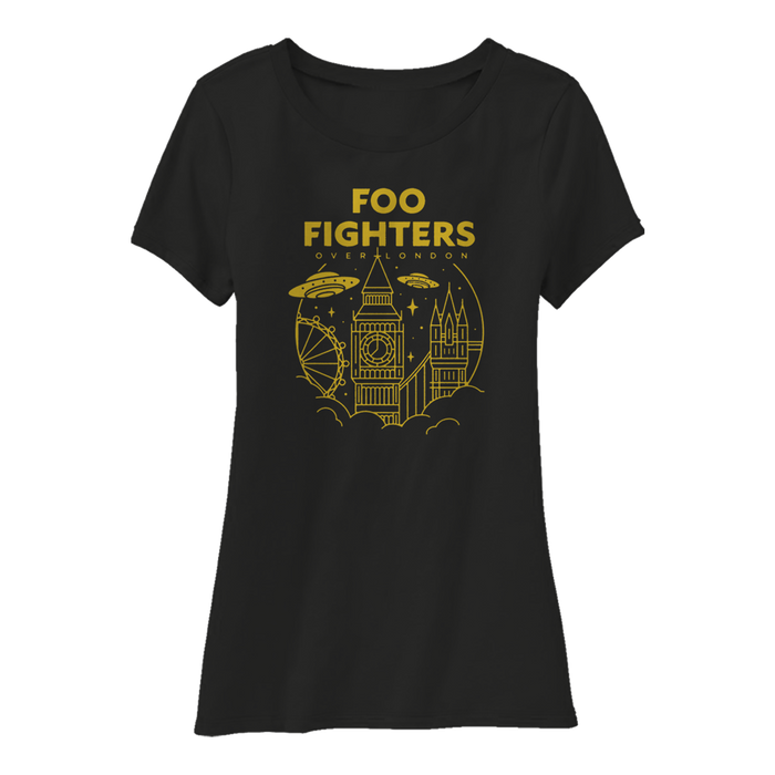 Over London Women's Tee - Foo Fighters UK