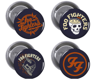 Badge Set - Foo Fighters UK